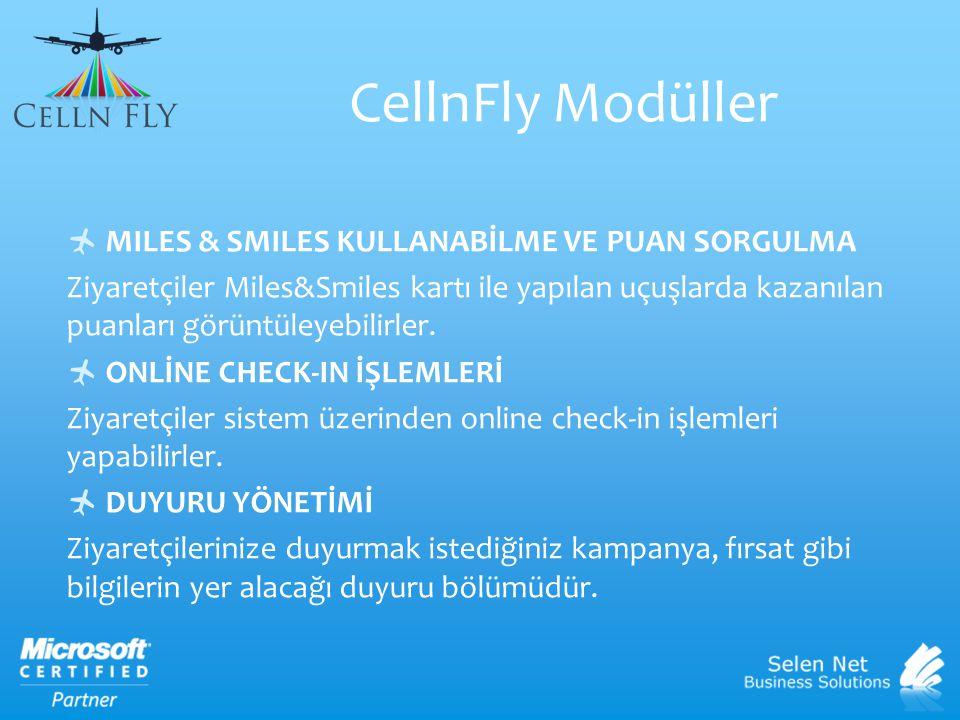  MILES & SMILES KULLANABİLME VE PUAN SORGULMA Ziyaretçiler Miles&Smiles kartı ile yapılan uçuşlarda kazanılan puanları görüntüleyebilirler.  ONLİNE