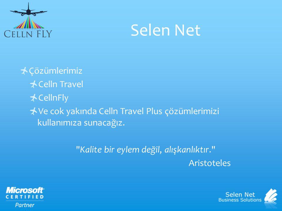  CellnFLY, online rezervasyon konusundaki son teknolojiler kullanılarak geliştirilmiş web tabanlı bir alt yapıya sahiptir.