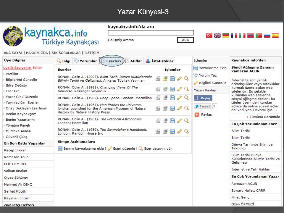 Yazar Künyesi-3
