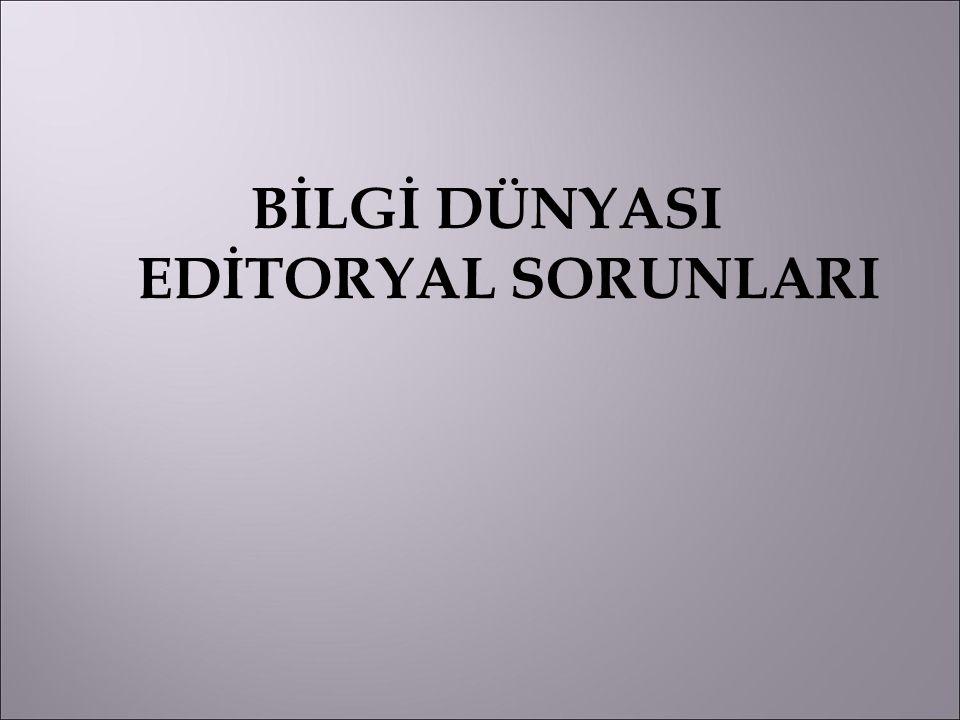  Özlerde en büyük sorun Türkçe ile İngilizce özün birbirini tutmaması.