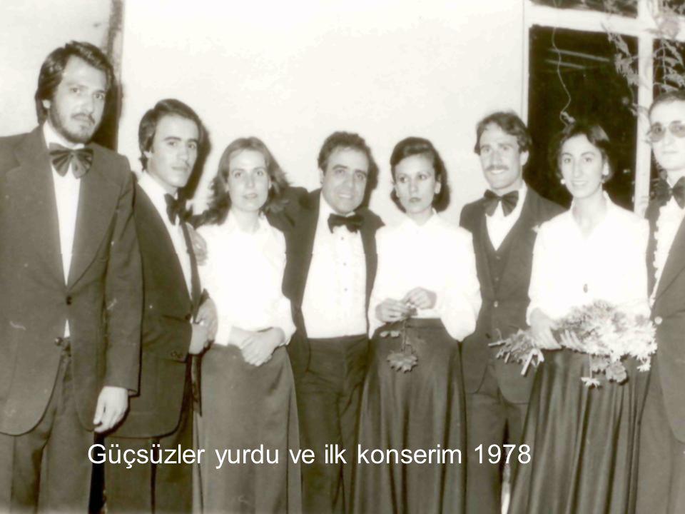 """Müzikteki ilk günlerim..İlk hocam """"Ali Şenozan"""" 1978"""