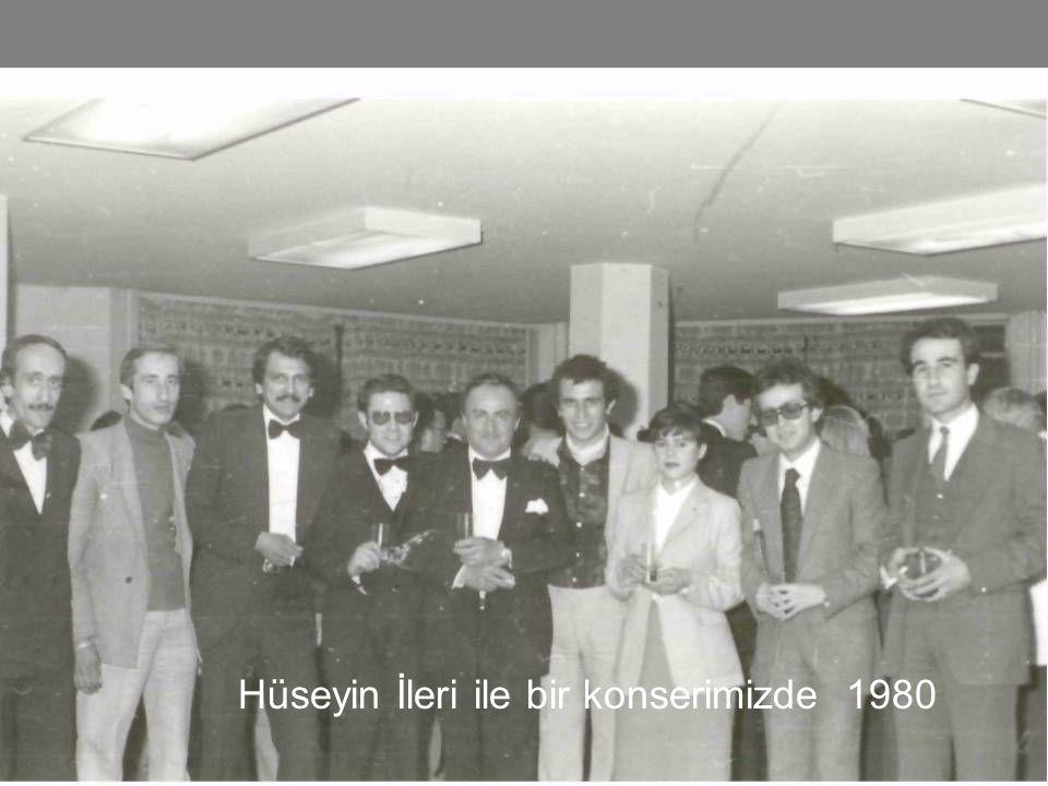"""1980 Hocam """"Kadri Şarman"""" Ank. Türk Müziği Derneği"""