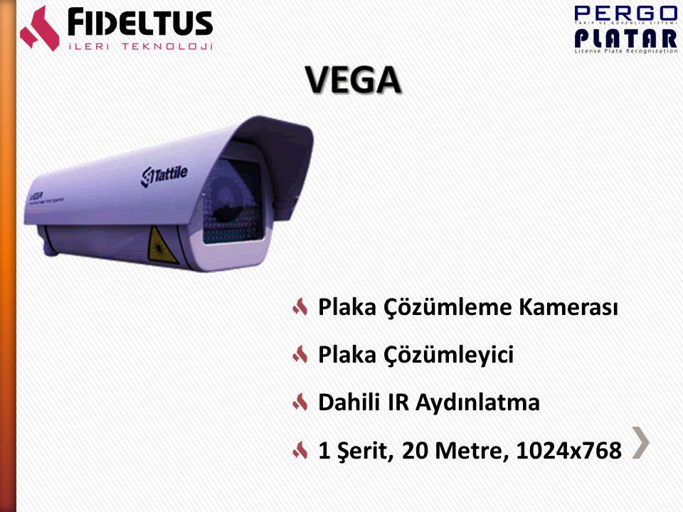 Plaka Çözümleme Kamerası Plaka Çözümleyici Dahili IR Aydınlatma 2 Şerit, 25 Metre, 1600x1200 16 GB Dahili Memory