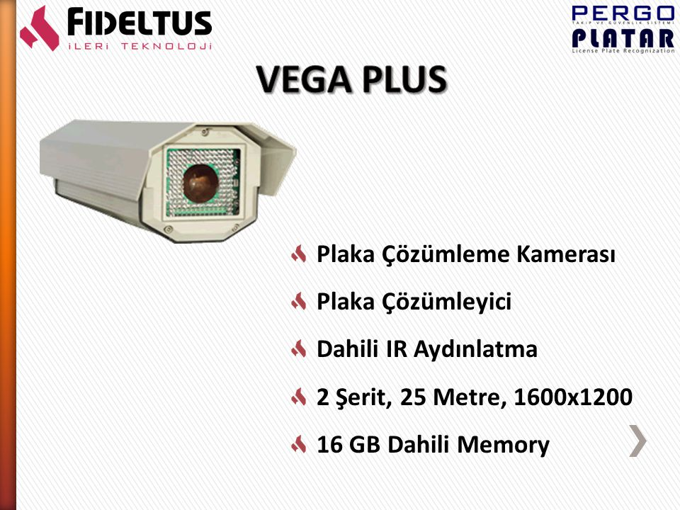 Plaka Çözümleme Kamerası Plaka Çözümleyici Dahili IR Aydınlatma 16 GB Dahili Memory 2 Şerit, 25 Metre, 1400x1000 Renkli Context Kamera, Video Streaming H.264