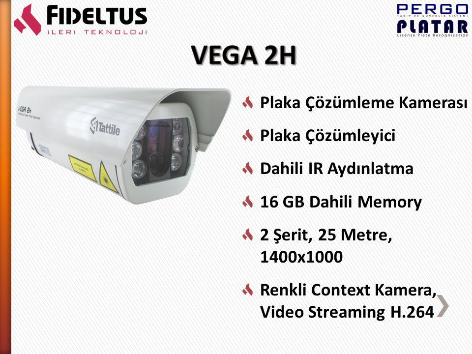Plaka Çözümleme Kamerası Plaka Çözümleyici Dahili IR Aydınlatma 16 GB Dahili Memory 1 Şerit, 25 Metre, 1400x1000 Renkli Context Kamera K-Band Radar Tech.