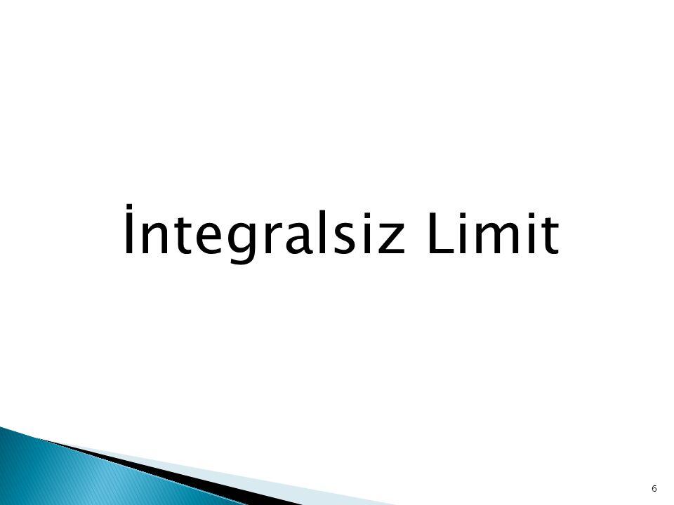 İntegralsiz Limit 6