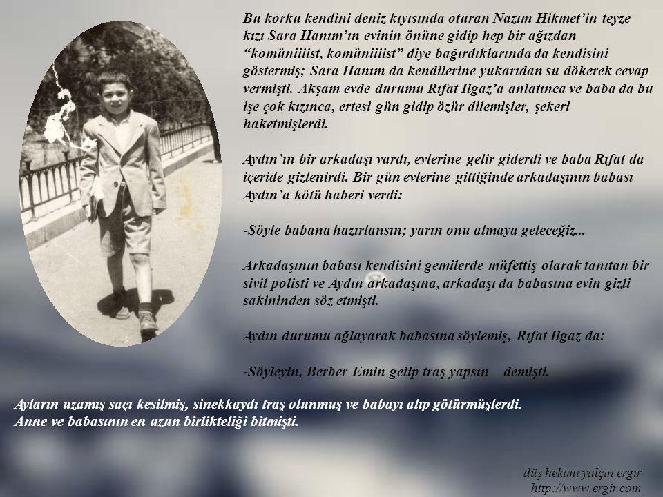 düş hekimi yalçın ergir http://www.ergir.com Komşuları Polis Şaban'a durumu anlattılar. Polis Şaban, İstanbul vali ve belediye başkanı Ordinaryus Prof