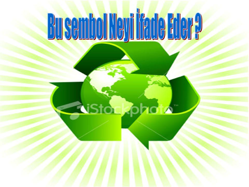 Geri dönüşüm malzeme üretiminde endüstriyel işlem sayısını azaltmak suretiyle enerji tasarrufu sağlar.