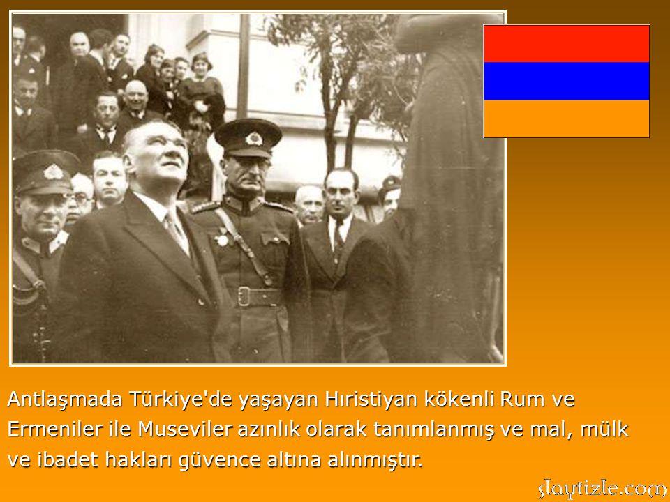 Türkiye Cumhuriyeti'nin temel nitelikleri, Lozan Antlaşmasında da yer almıştır. Buna göre, ülkesi ve ulusuyla bölünmez bir bütün oluşturan Türkiye'de