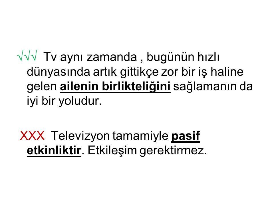 √√√ Tv aynı zamanda, bugünün hızlı dünyasında artık gittikçe zor bir iş haline gelen ailenin birlikteliğini sağlamanın da iyi bir yoludur. XXX Televiz