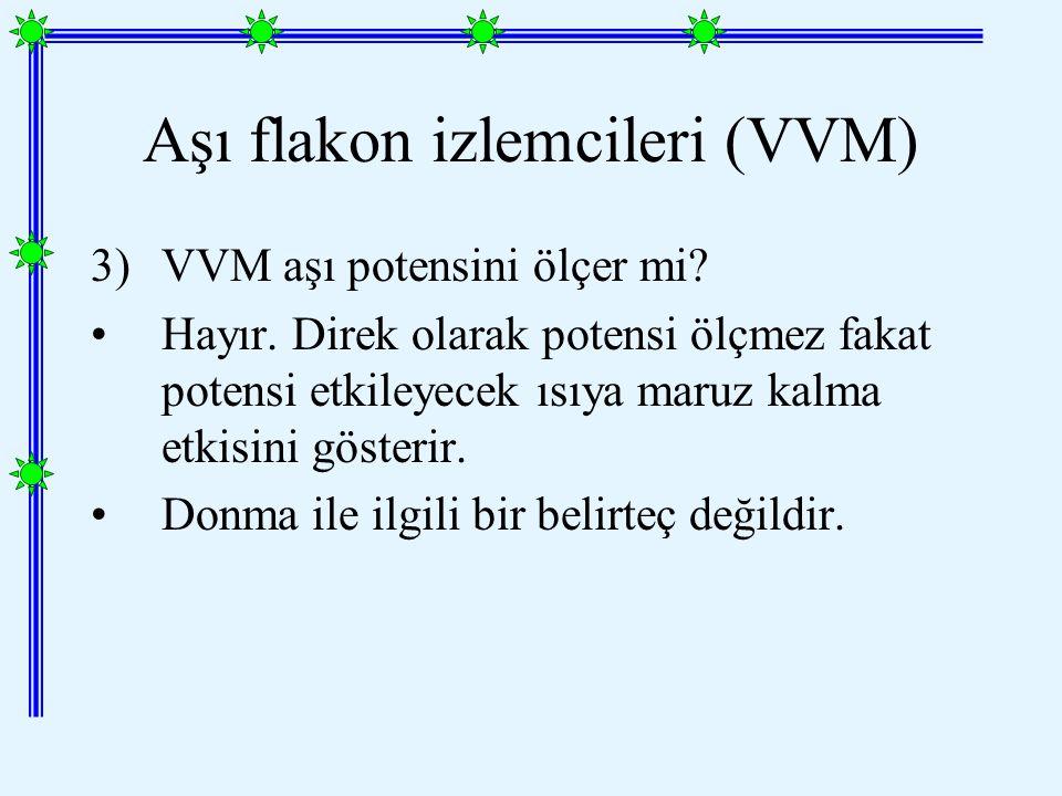 3)VVM aşı potensini ölçer mi.Hayır.
