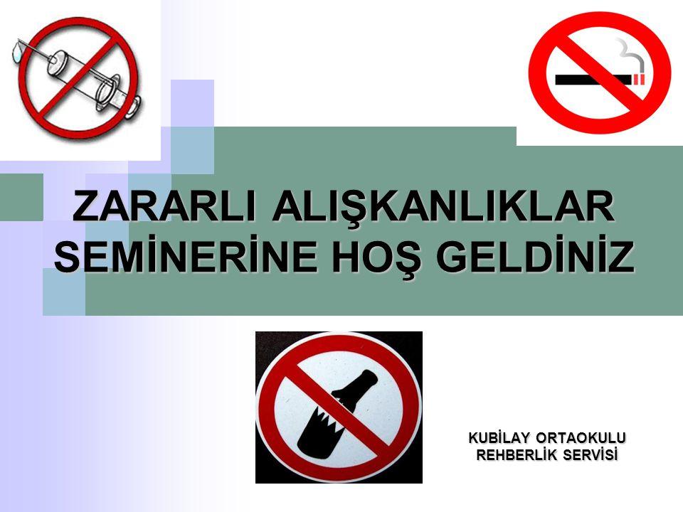 Sigara içenlerin çevreye zararları; Bulundukları çevrenin havasını kirletirler Çevrelerindeki insanların pasif sigara içmelerine neden olurlar Ev ve orman yangınlarına neden olurlar