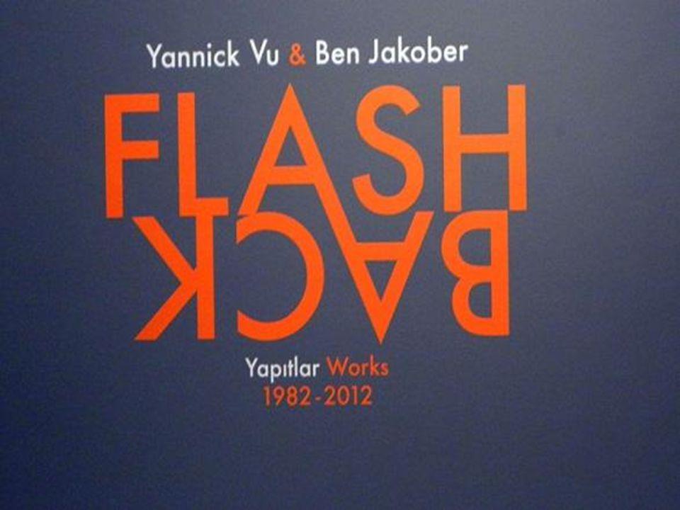 Yannick Vu & Ben Jakober Rorschach Tondos, 2012 Pleksiglas Sanatçı koleksiyonu Ho Veus Tondos'a paralel bu yeni seri, Rorschach testlerinde kullanılan