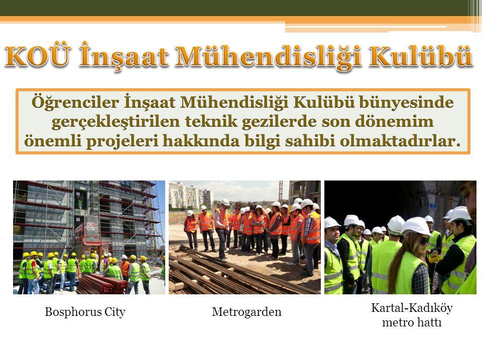 MetrogardenBosphorus City Kartal-Kadıköy metro hattı