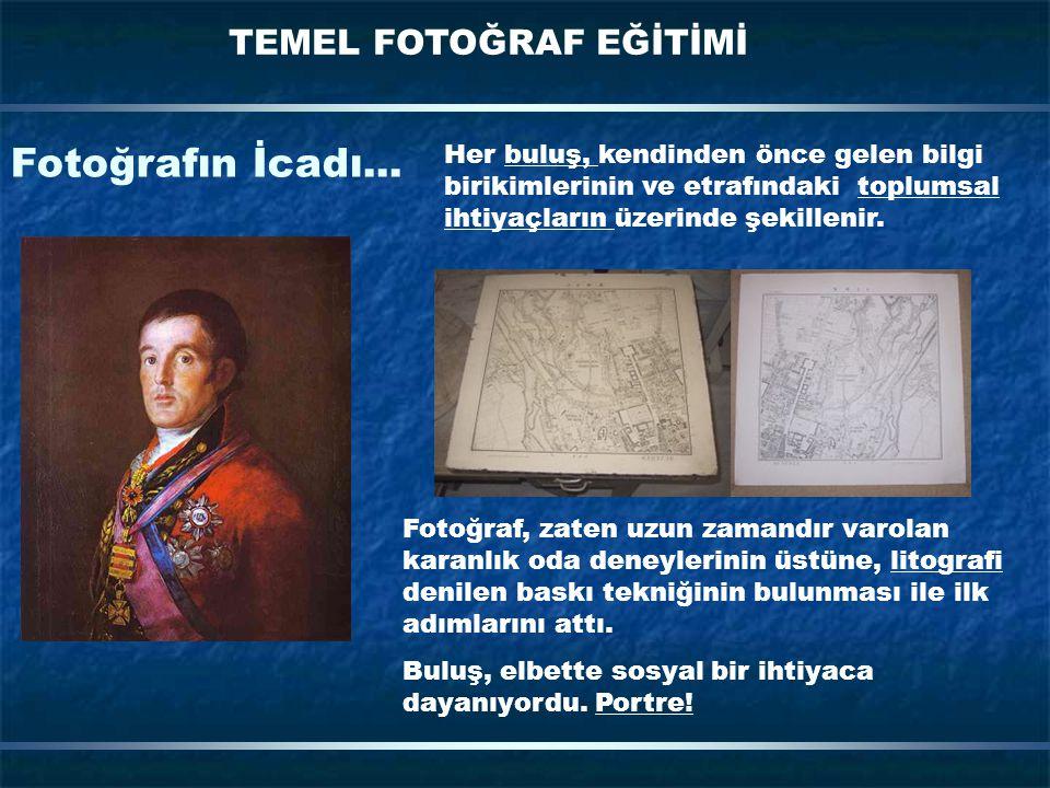 Fotoğrafın İcadı...
