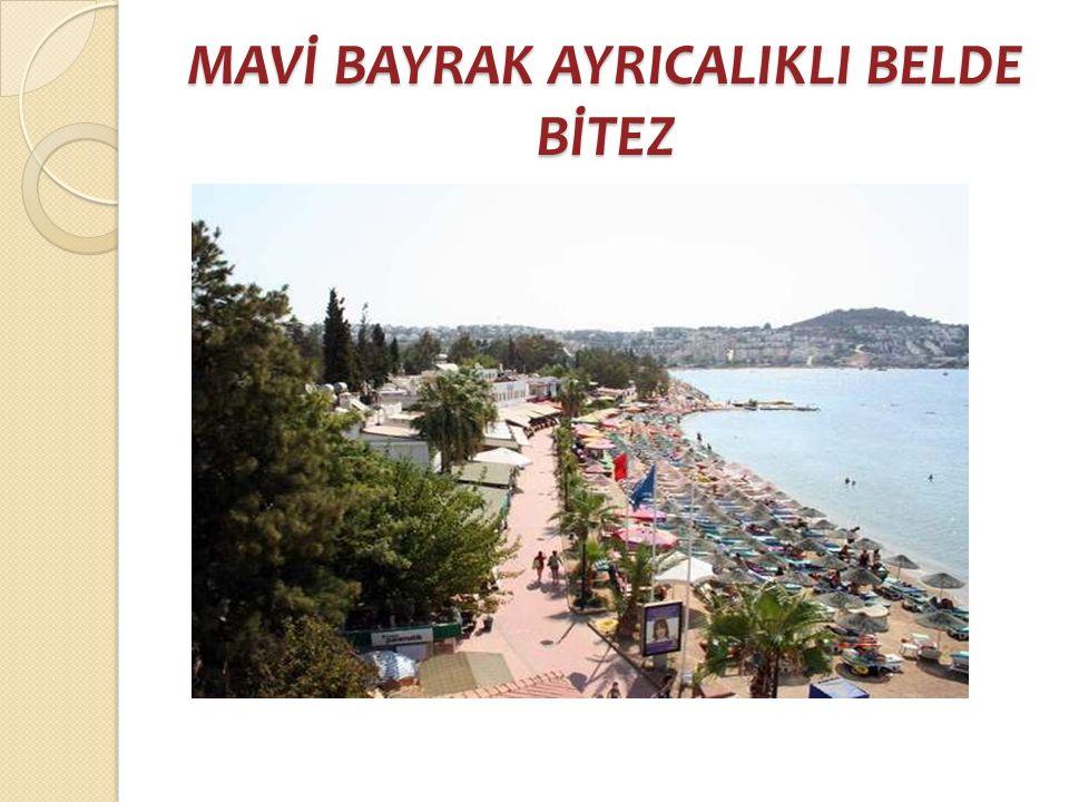 MAVİ BAYRAK AYRICALIKLI BELDE BİTEZ