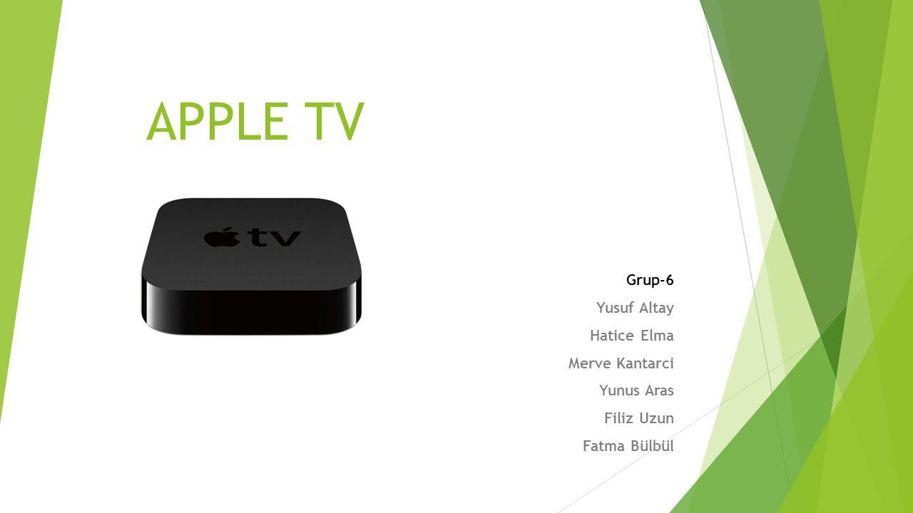 İçindekiler Apple Tv nedir.Apple Tv Teknik özellikleri Apple Tv ile neler yapılır.