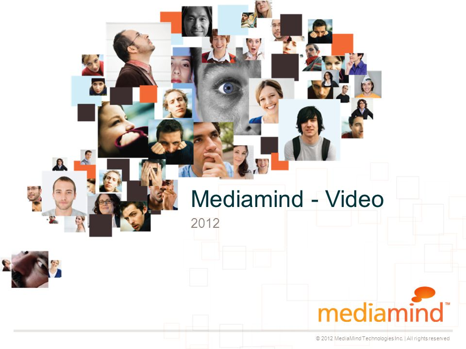 © 2012 MediaMind Technologies Inc.
