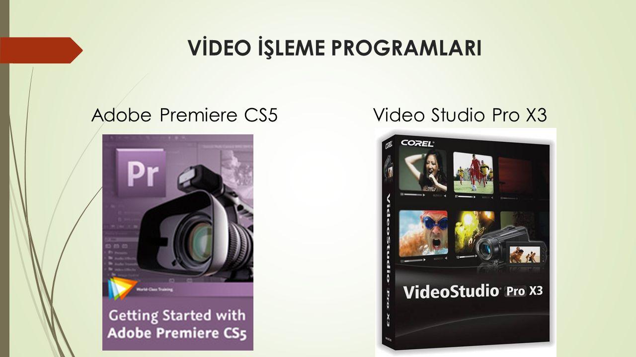 Video çalışacağımız alan Ön izleme ekranı