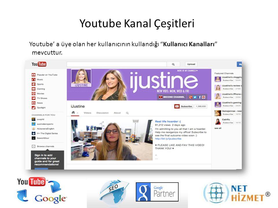 Youtube Standart Görüntülü reklamlar videoların sağ tarafında standart resim şeklinde gösterilen reklamlardır.