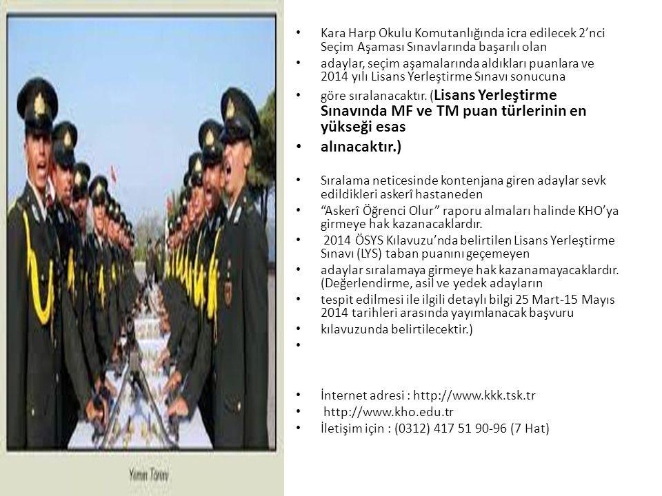 DENİZ HARP OKULU Türk Deniz Kuvvetlerinin temel subay kaynağı olan Deniz Harp Okulu, Deniz Kuvvetlerinin çeşitli birimlerinde görev alacak cesur, dürüst, liderlik özelliklerine sahip, en son teknolojik gelişmeleri izleyebilecek düzeyde akademik eğitim almış deniz subayları yetiştirmektedir.
