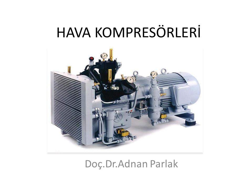 Hava kompresörleri Kullanım yerleri Ana makine ve jeneratör dizelin ilk hareketi, Pnomatik valf ve devrelerin kontrolü, Gemi düdüğü Filitre ve ısı değiştiricilerin temizlenmesi,