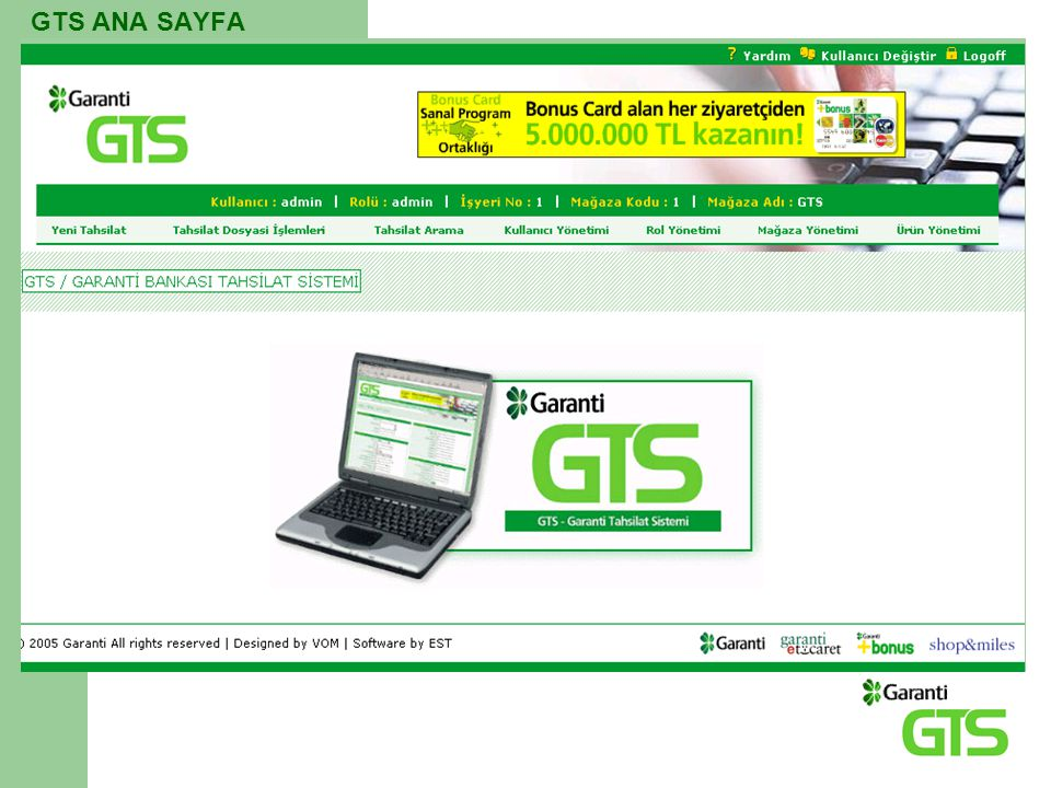 GTS ANA SAYFA
