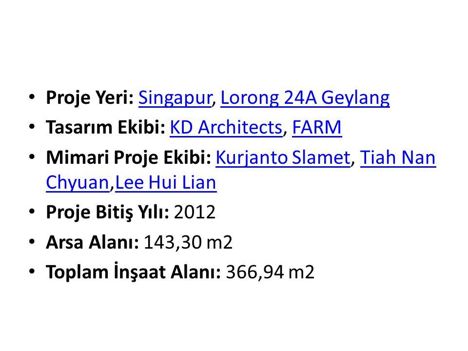 Proje Yeri: Singapur, Lorong 24A GeylangSingapurLorong 24A Geylang Tasarım Ekibi: KD Architects, FARMKD ArchitectsFARM Mimari Proje Ekibi: Kurjanto Sl