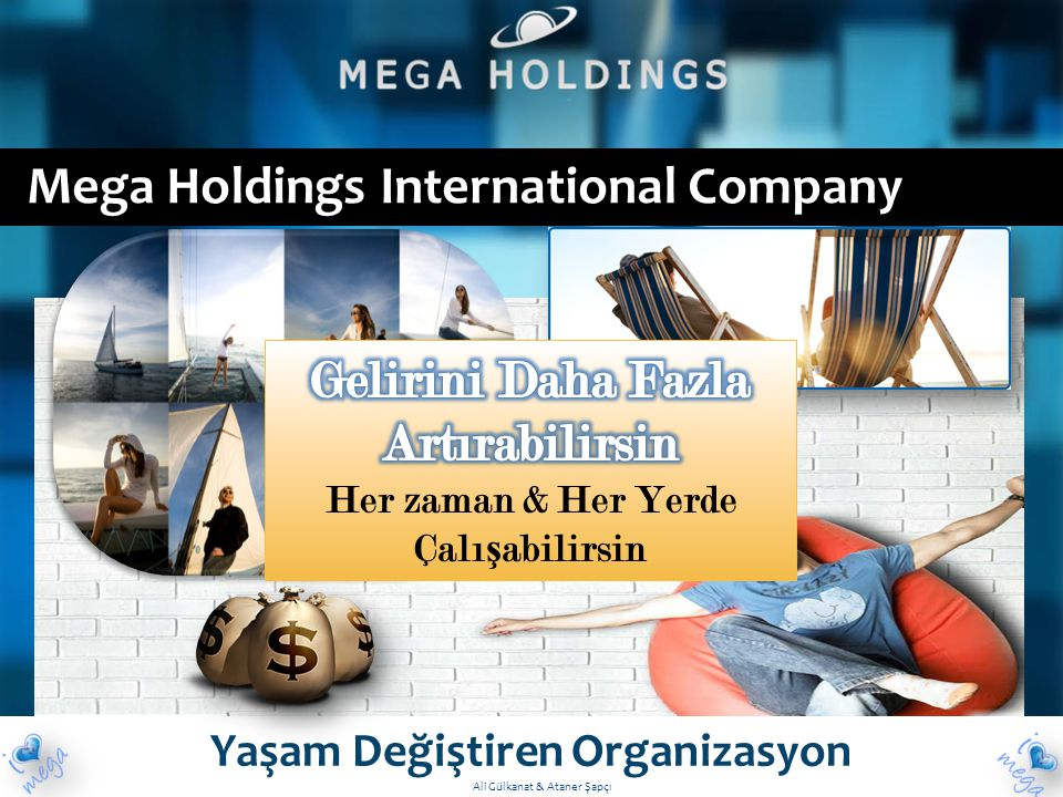 Mega Holdings International Company Yaşam Değiştiren Organizasyon Ali Gülkanat & Ataner Şapçı