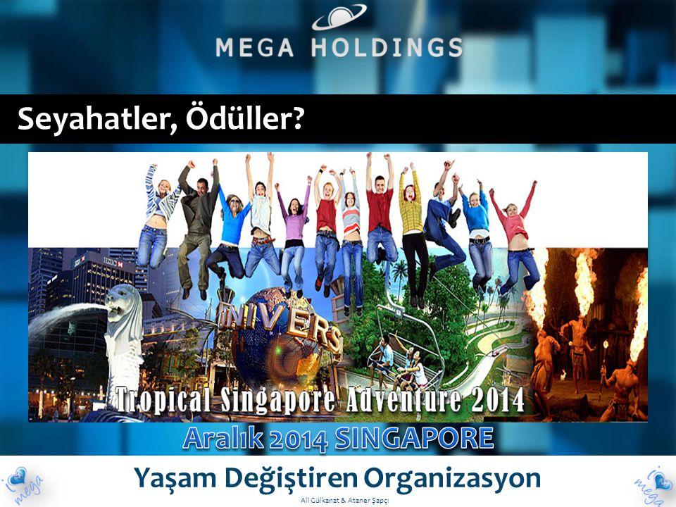 Seyahatler, Ödüller? Yaşam Değiştiren Organizasyon Ali Gülkanat & Ataner Şapçı