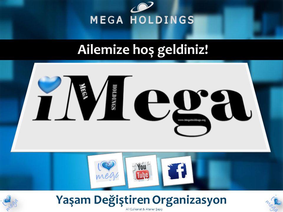 Ailemize hoş geldiniz! Yaşam Değiştiren Organizasyon Ali Gülkanat & Ataner Şapçı