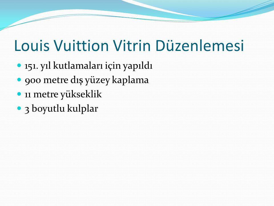 Louis Vuittion Vitrin Düzenlemesi 151.