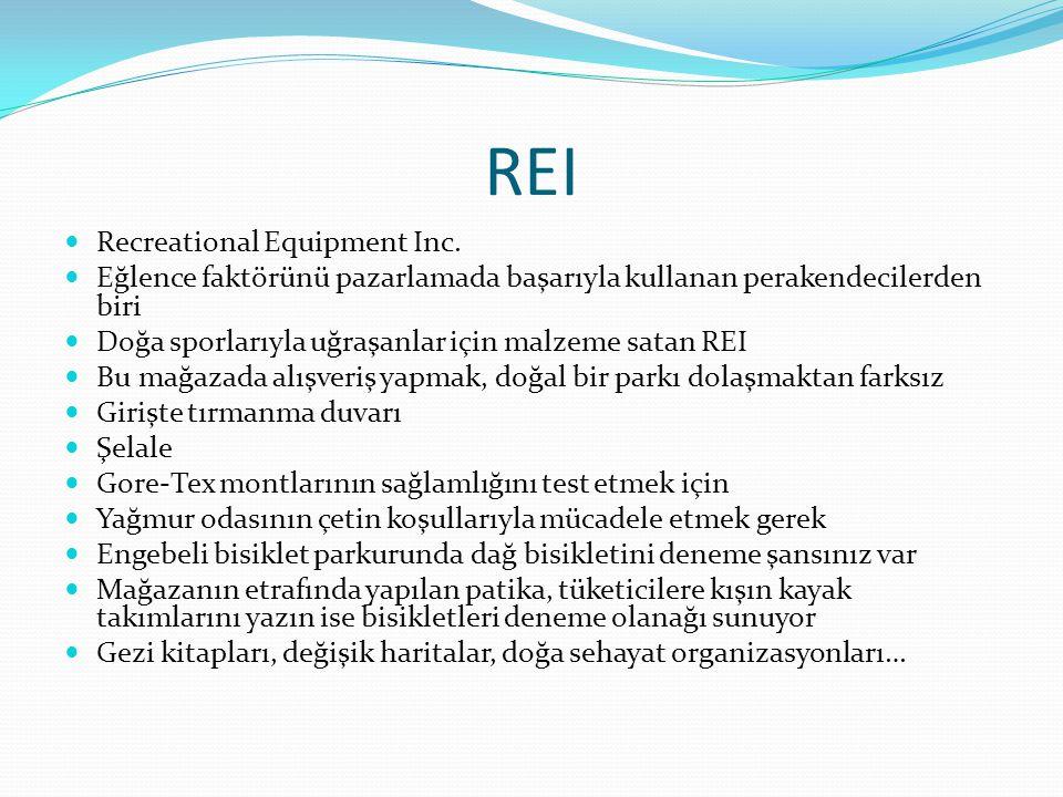 REI Recreational Equipment Inc.