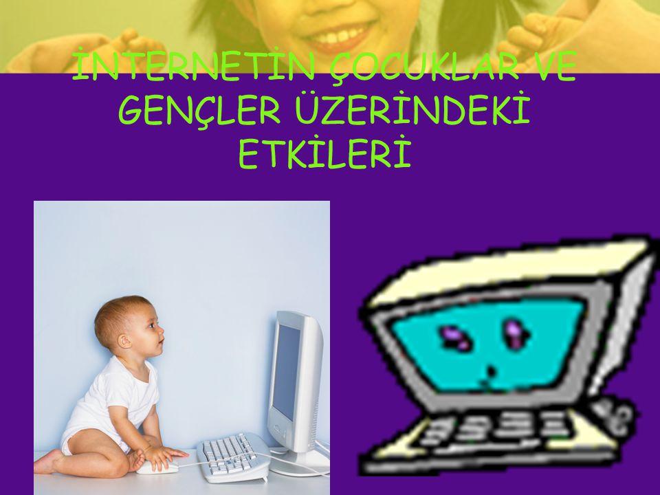 Bir Amerikalı psikologun yaptığı araştırmaya göre, interneti çok kullanan 5oo kişinin %80' i bağımlı kategorisindeydi.