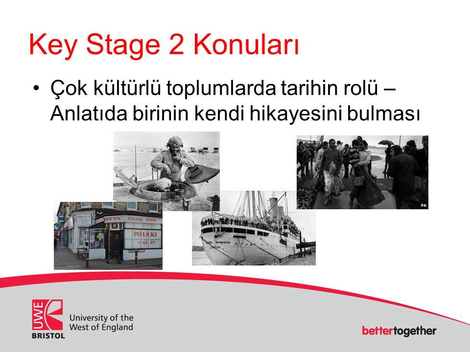Key Stage 2 Konuları Çok kültürlü toplumlarda tarihin rolü – Anlatıda birinin kendi hikayesini bulması