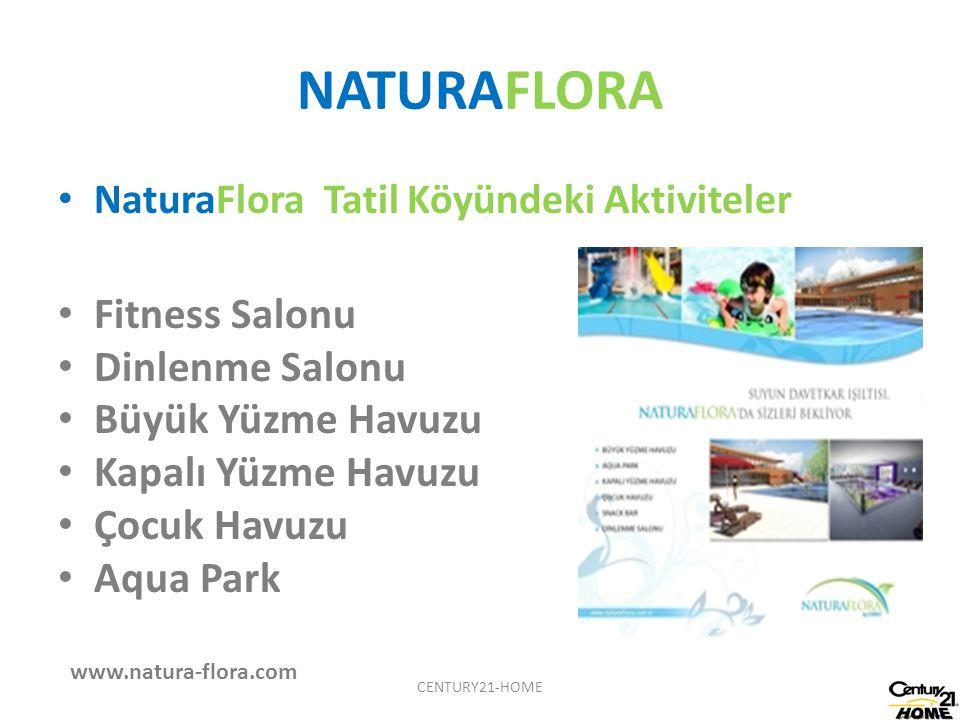 NATURAFLORA NaturaFlora Tatil Köyündeki Aktiviteler Fitness Salonu Dinlenme Salonu Büyük Yüzme Havuzu Kapalı Yüzme Havuzu Çocuk Havuzu Aqua Park www.n