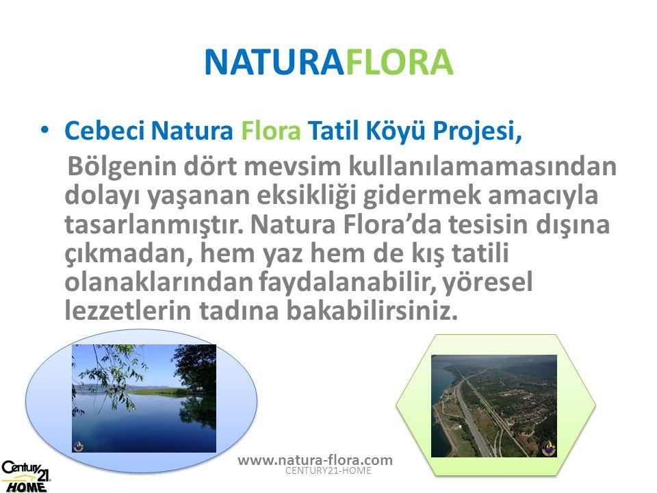 NATURAFLORA Cebeci Natura Flora Tatil Köyü Projesi, Bölgenin dört mevsim kullanılamamasından dolayı yaşanan eksikliği gidermek amacıyla tasarlanmıştır