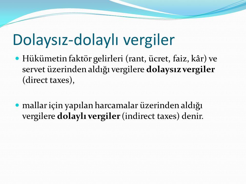 Spesifik-ad volarem vergiler Birim mal üzerinden alınan vergilere spesifik vergiler (specific taxes) denir.