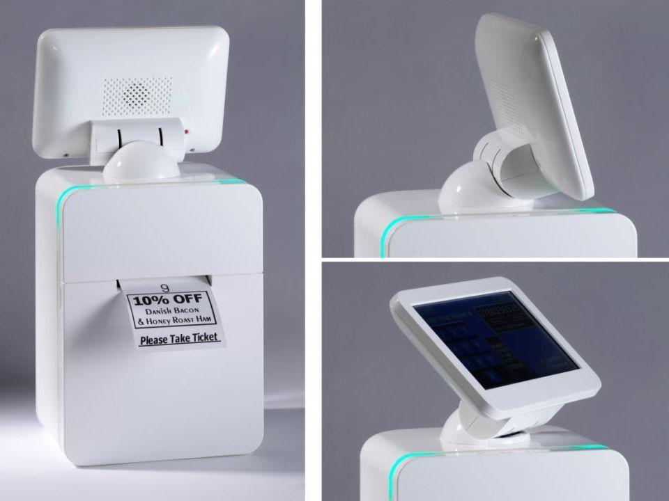 Bağlantı Birimleri USB-Host x 4 (Type A) USB-Device x 1 (Type B) Ethernet (100/10 Base T) Audio Line out Internal Speaker Internal Microphone Cash Draw Connector Micro SDHC