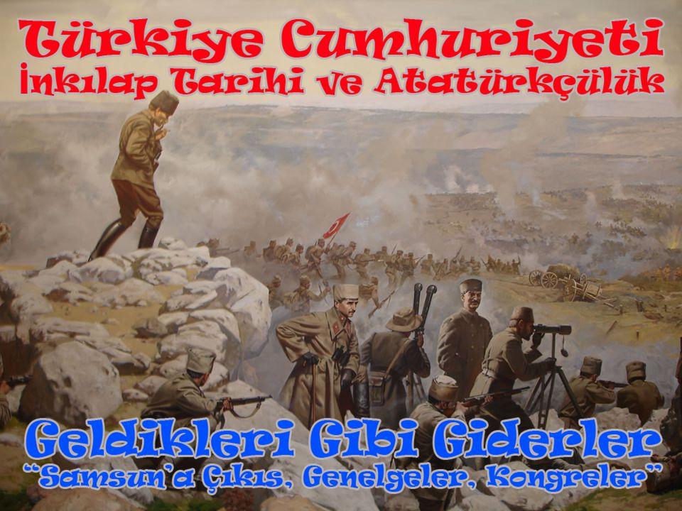 Amasya Genelgesi'nin Önemi  Kurtuluş Savaşı nın gerekçesi, amacı yöntemi belirlenmiştir.