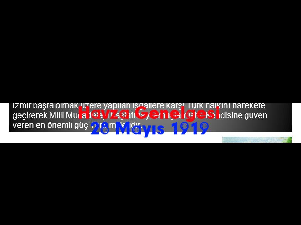 Mustafa Kemal 25 Mayıs 1919 tarihinde Havza'ya geçmiştir.