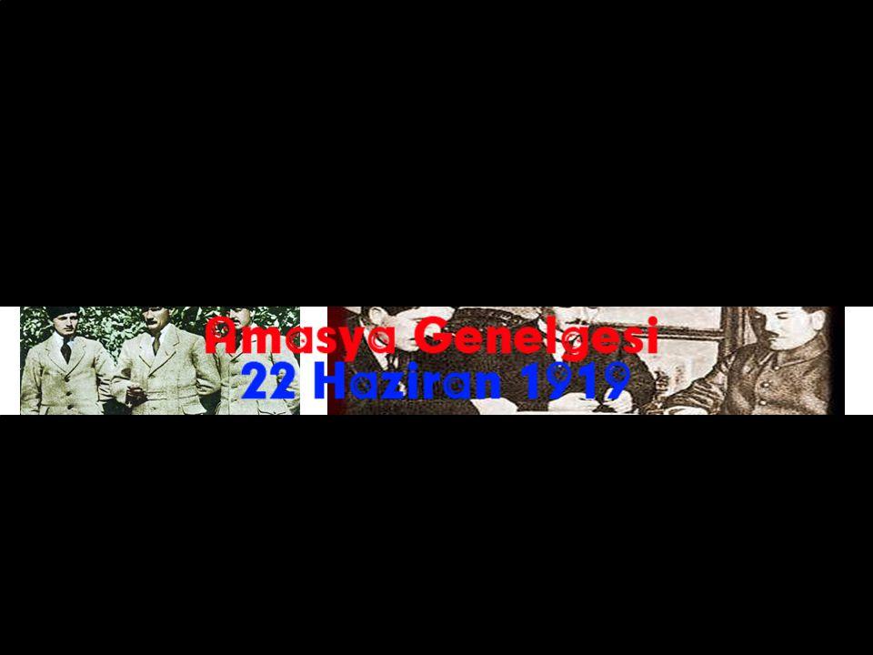 ALAŞEHİR KONGRESİ 16-25 AĞUSTOS 1919) Erzurum Kongresinin ardından Erzurum Kongresi kararlarını görüşmek üzere toplandı.
