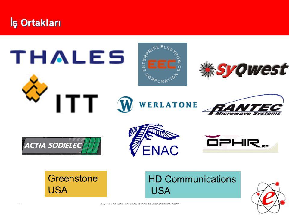 8 (c) 2011 ErikTronik. ErikTronik in yazılı izni olmadan kullanılamaz. Referanslar