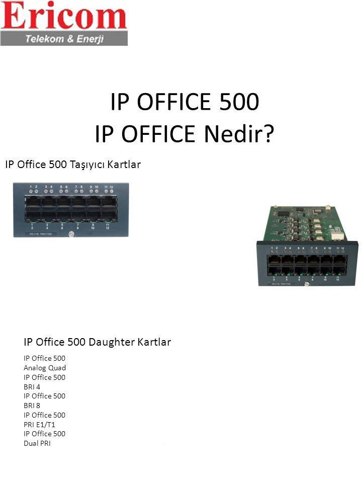 IP OFFICE 500 IP OFFICE Nedir.