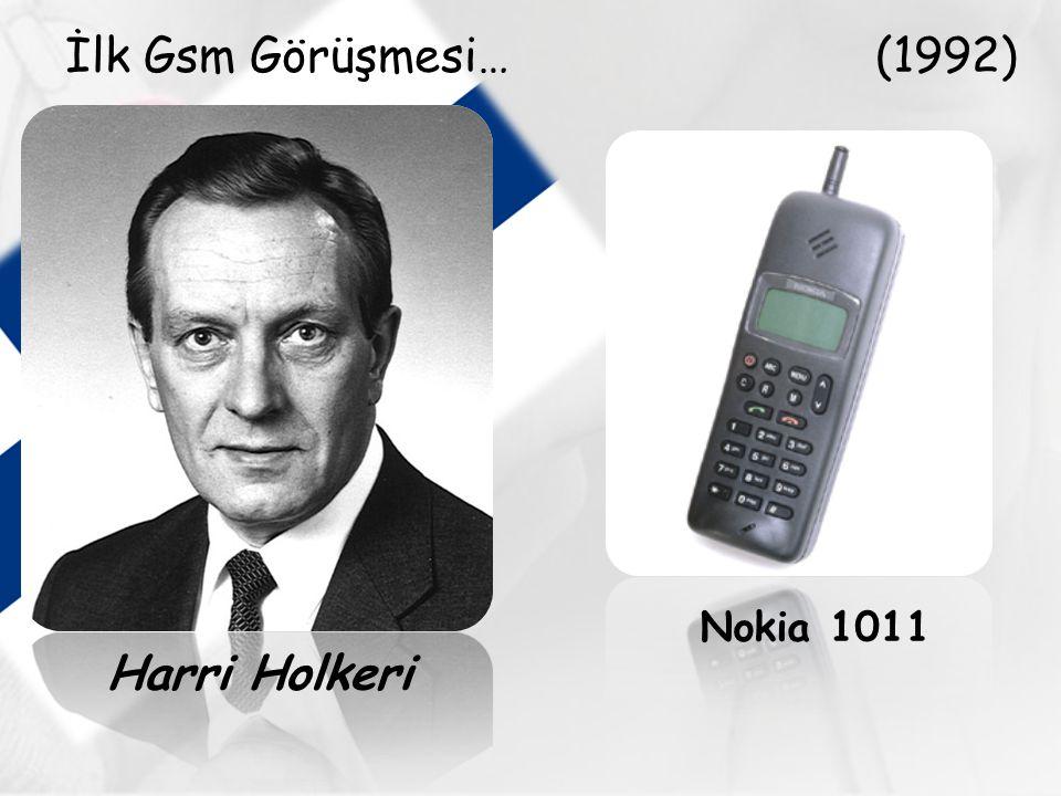 Nokia 1011 Harri Holkeri İlk Gsm Görüşmesi… (1992)