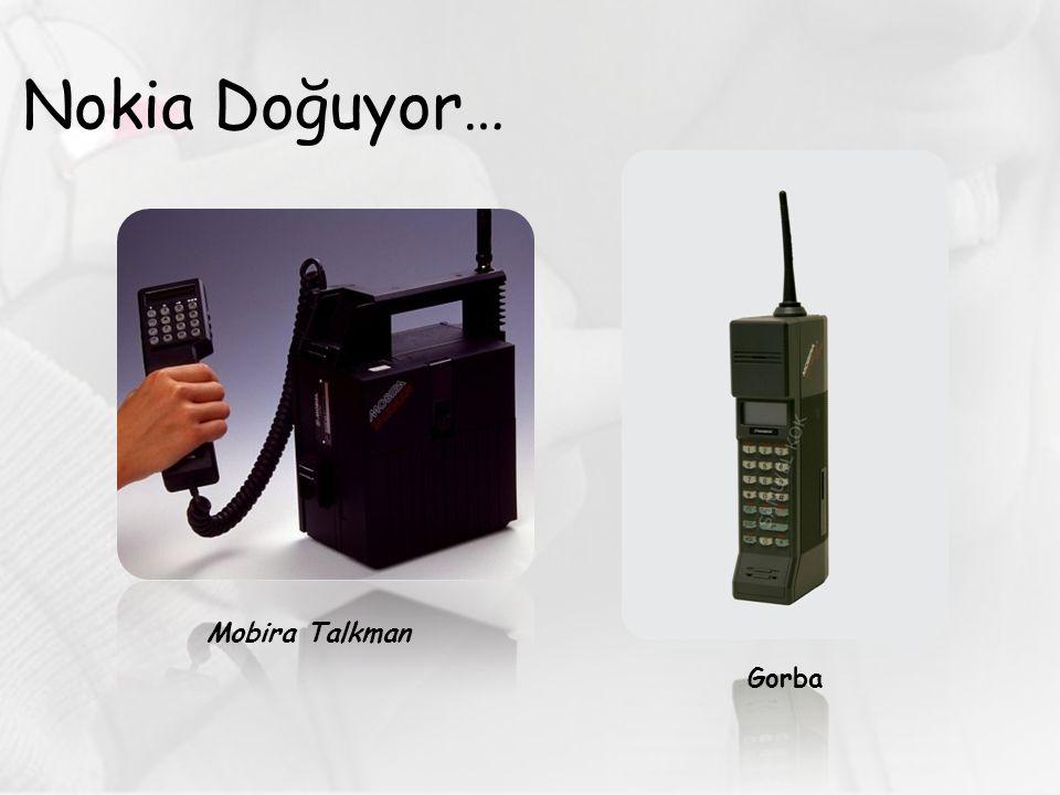 Nokia Doğuyor… Mobira Talkman Gorba