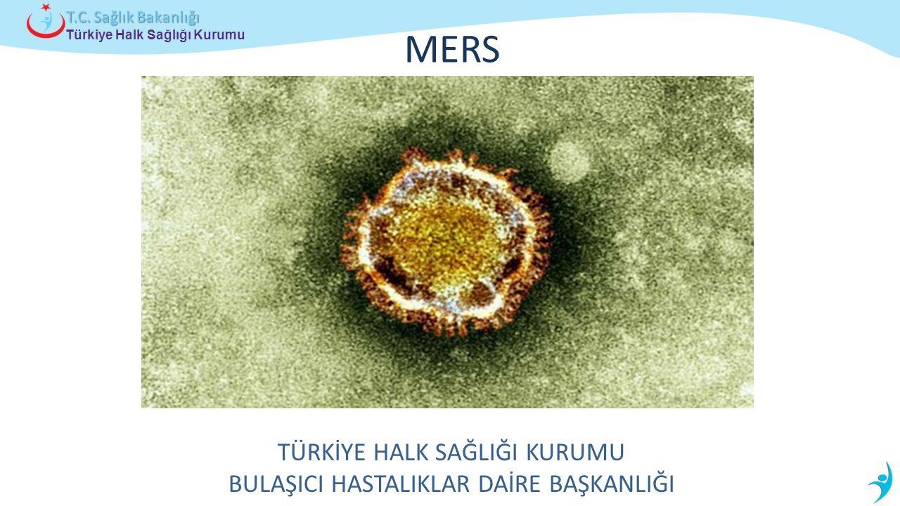 Türkiye Halk Sağlığı Kurumu T.C. Sağlık Bakanlığı MERS TÜRKİYE HALK SAĞLIĞI KURUMU BULAŞICI HASTALIKLAR DAİRE BAŞKANLIĞI