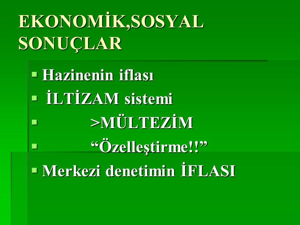 DİRENİŞLER  Loncaların direnişi  ESNAF-TARİKAT-YENİÇERİ  AYAKLANMALAR  İstanbul ve bütün imparatorlukta  16 - 19.yy arasında sürekli