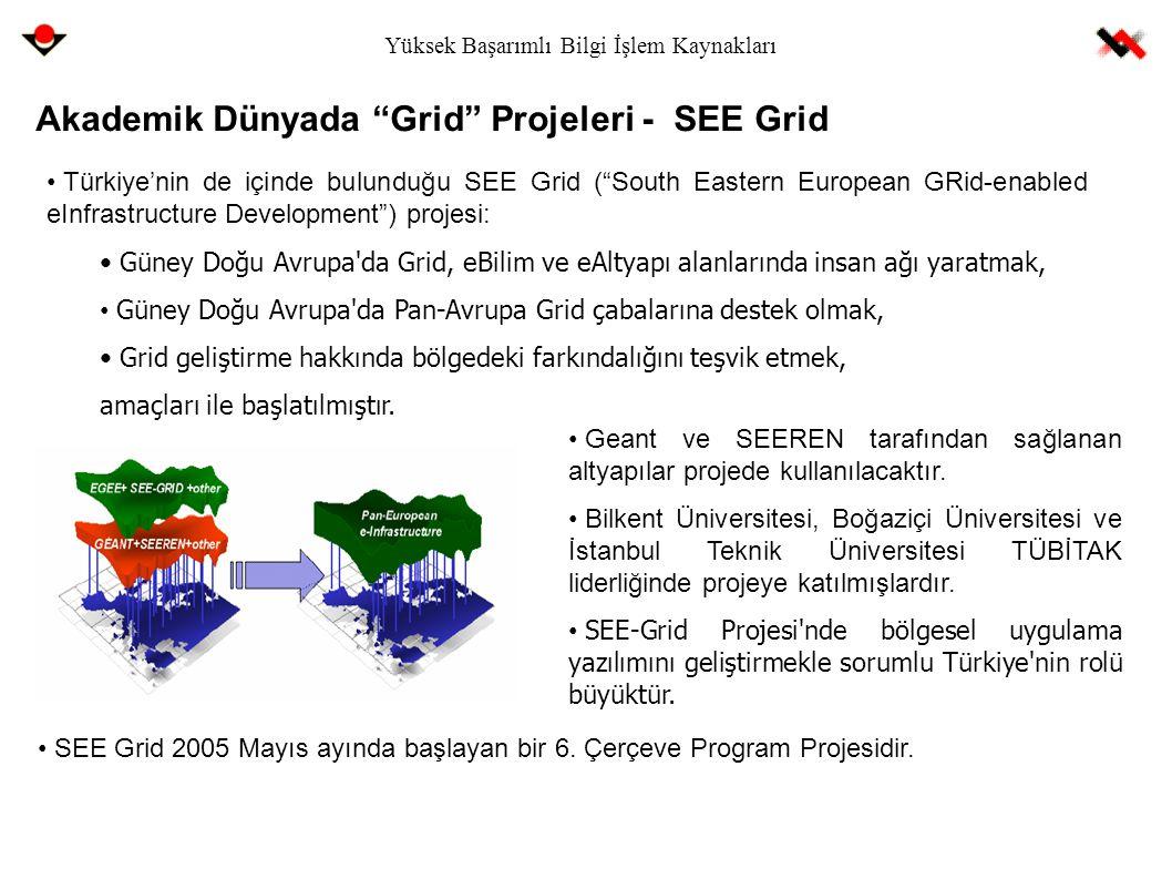 """Akademik Dünyada """"Grid"""" Projeleri - SEE Grid Türkiye'nin de içinde bulunduğu SEE Grid (""""South Eastern European GRid-enabled eInfrastructure Developmen"""