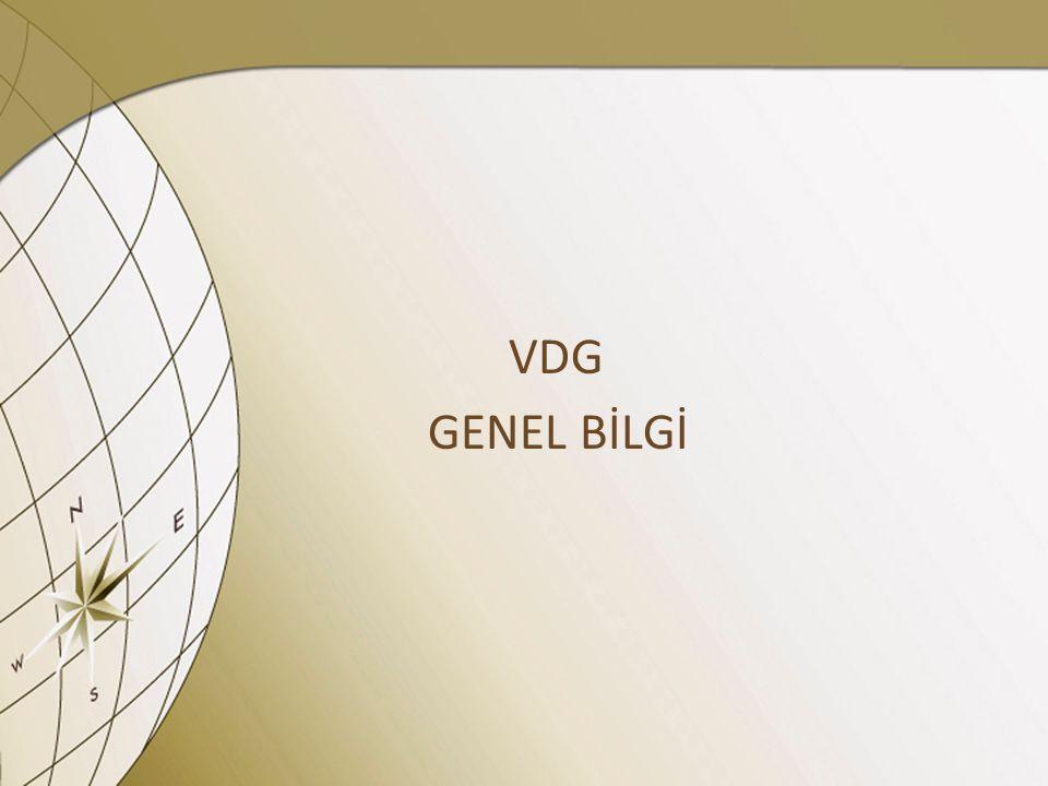 VDG GENEL BİLGİ